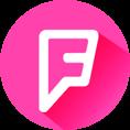 M Logo Foursquare